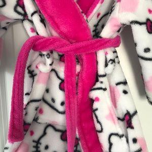 Hello Kitty Pajamas - Hello Kitty Bath Robe 2T